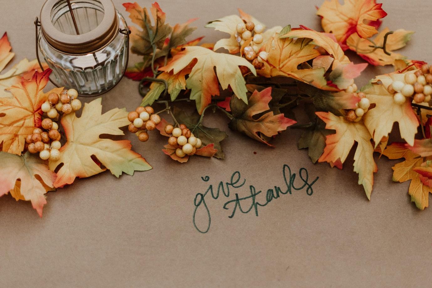 History behind thanksgiving