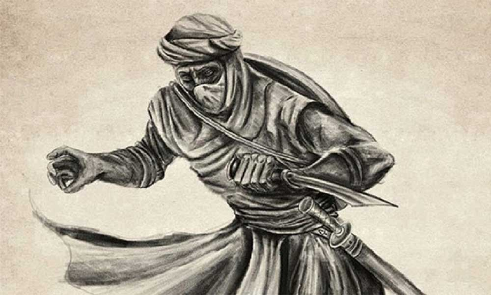 Hashashins - the Assassins of Persia